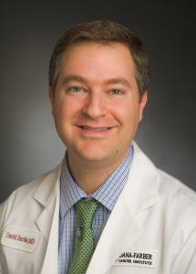 Doctor and researcher, David Barbie, M.D. from the Department of Medical Oncology at Dana-Farber Cancer Institute.