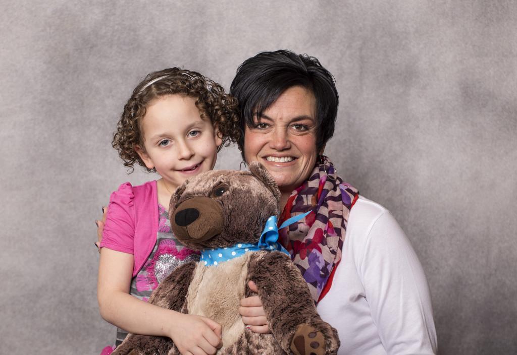 DFMC Patient Partner Allison with her runner, Kerrie Winsor.