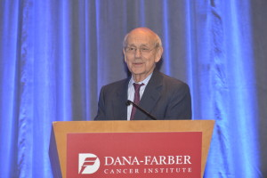 The Honorable Stephen G. Breyer, associate justice of the Supreme Court of the United States and Dana-Farber Trustee, was the keynote speaker at the 25th anniversary recognition dinner.