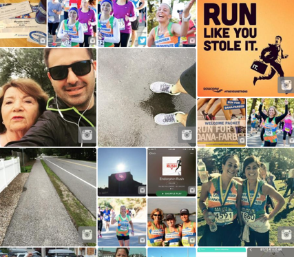Share your favorite fundraising and training moments, and become a part of our gallery by tagging your photos on Twitter, Instagram and Vine with #RunDanaFarber!
