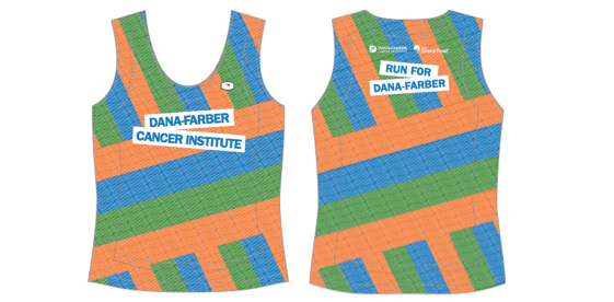 The exclusive Dana-Farber race singlet.