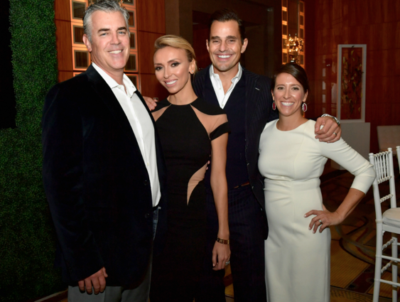 Co-Chairs Jamie and Meredith Tedford with Hosts Giuliana and Bill Rancic.