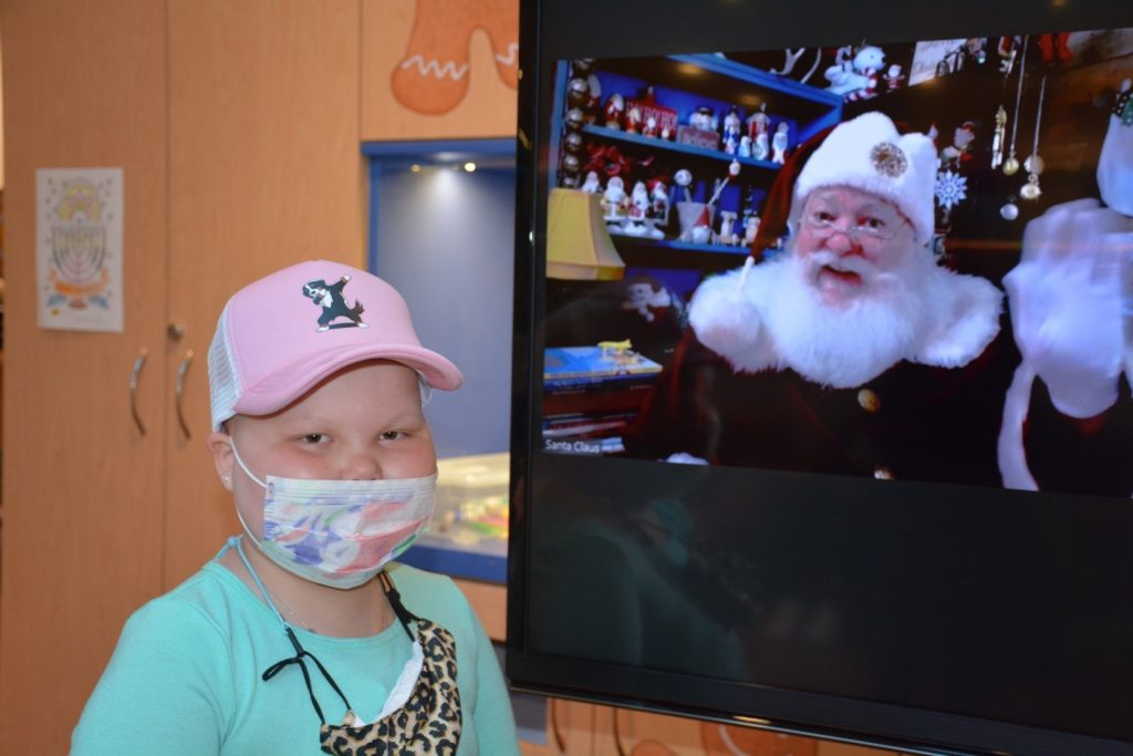 Jimmy Fund Clinic patient, Ellie, 6.