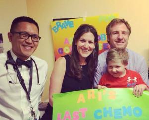 pediatric cancer survivor